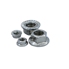 Free Shipping M3/M4/M5/M6/M8/M10/M12 304 Stainless Steel Flange Hex Nut Flange Nuts DIN6923 все цены