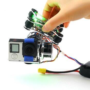 1pcs Super LightGopro CNC Brushless Camera Gimbal W/Motors & Controller 160G For DJI Phantom 1pcs super lightgopro cnc brushless camera gimbal w motors