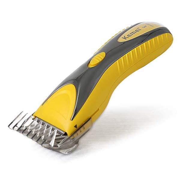 Kemei KM-1602 steel blade mens trimmer rechargeable electric hair clipper hair trimmer kemei km 2516 rechargeable electric hair clipper with limit comb