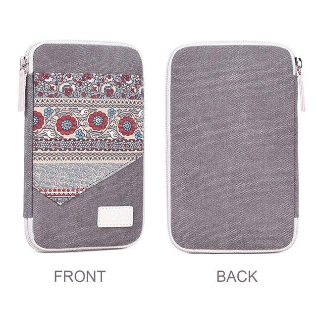 Travel bohemian Phone Cable Organizer Bag