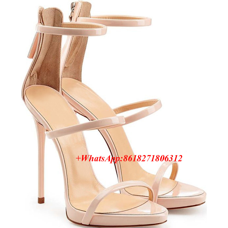 Summer Style Metallic Strappy Sandals Silver Gold Platform Gladiator Boot Sandals Women Sexy High Heels Narrow Band Shoes Woman phyanic 2017 gladiator sandals gold silver shoes woman summer platform wedges glitters creepers casual women shoes phy3323