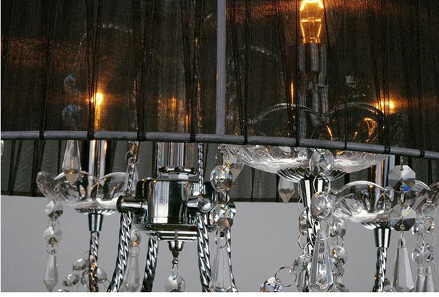 Kronleuchter Lampe ~ Online shop luxus kristall kronleuchter licht runde farbe