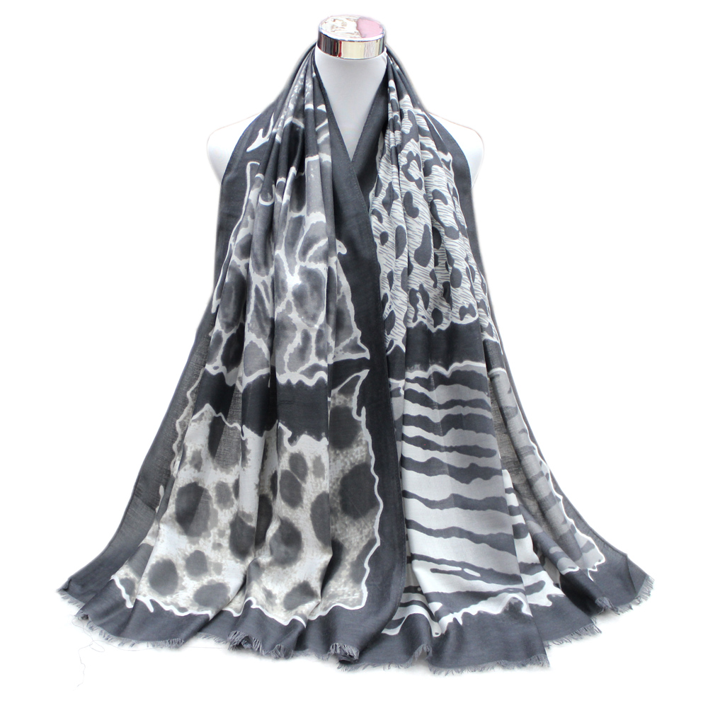 SALUTTO Long <font><b>Silk</b></font> <font><b>scarves</b></font> 1PC <font><b>180*90cm</b></font> Fashion Design Leopard Print Women winter <font><b>scarves</b></font> Hijabs aumtumn new <font><b>scarf</b></font> winter warm image