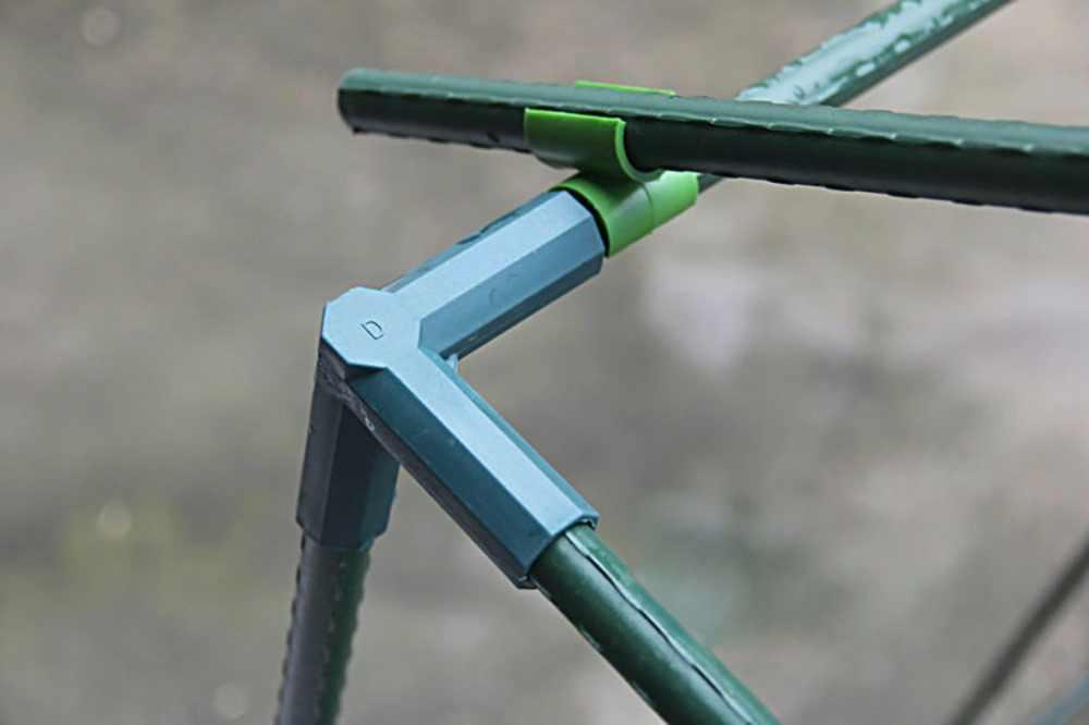 10-Pack 3-Way садовые лужайки колья окантовки Угловые соединители подходят для 11 мм/16 мм колья для растений
