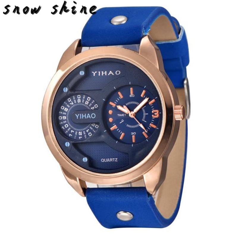 snowshine 10 font b Luxury b font Men s Fashion Sport Waterproof Digital Analog Quartz Wrist