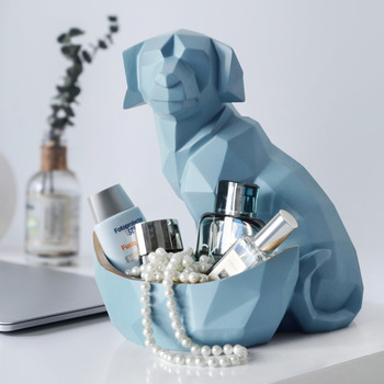 Creative Dog and Cat Storage Geometric Sculpture 1