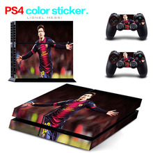 Hot Sale FC47 for PS4 Skin 1 Set Body Skins For Play station 4 Sticker Decal Cover + 2 Controller Sticker ps4 accessories