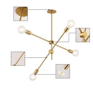 Image 4 - Nordic Modern Pendant Lights Long Pole Designer Pedant Lamps Ceiling Art Decoration Hanging Lamp Bar Dining Kitchen Living Room