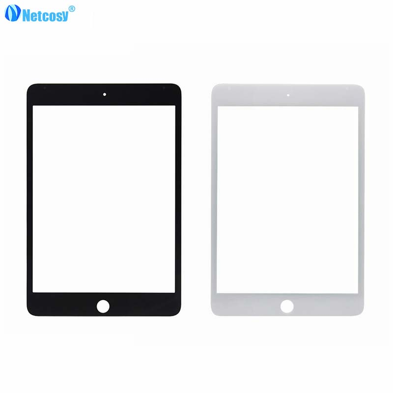 Netcosy LCD glass Front Outer For ipad mini 4 Touch Screen Glass Lens Replacement part For Ipad Mini 4 Mini4 A1538 A1550 Tablet grassroot new 100% tested good quality lcd touch screen for ipad mini4 a1538 a1550 lcd display touch screen replacement assembly