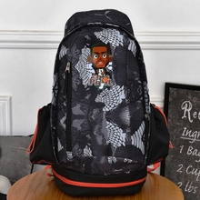 Paul Durant Bryant Curry Canvas Bag Basket Ball Game Star Backpack School For Student Men Women Large Capacity Travel