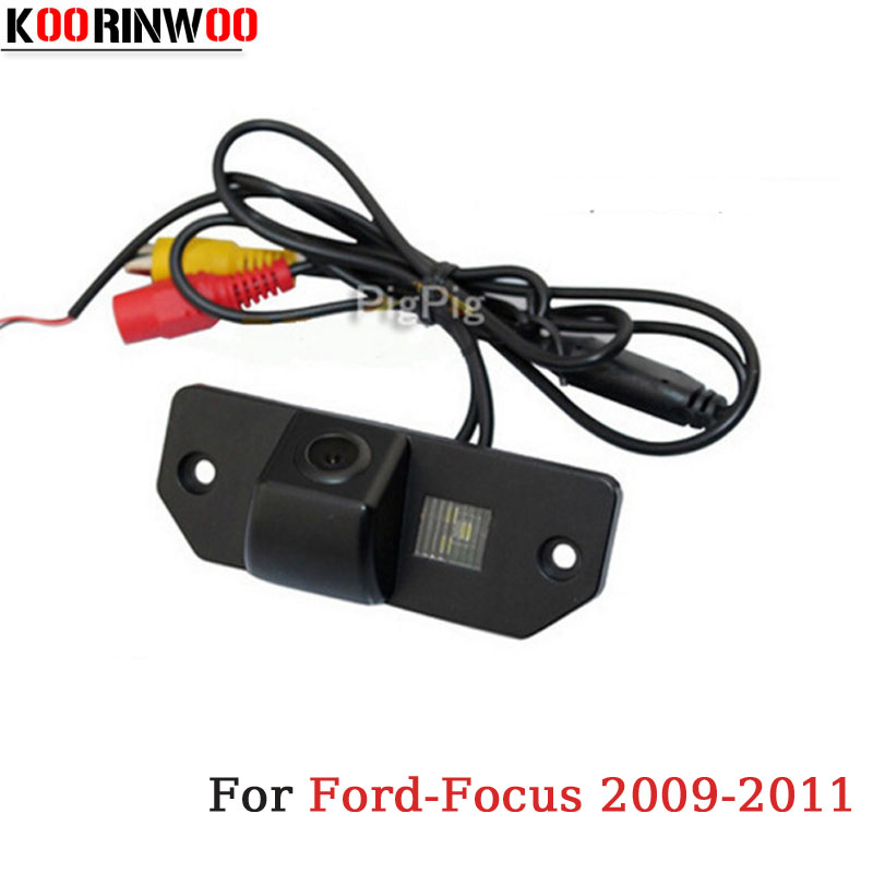 KOORINWOO Special HD CCD Car Rear View camera Reversing Cam Video for Focus/Sedan/C-MAX/MONDEO 2009/2010/2011 Parking Assistance