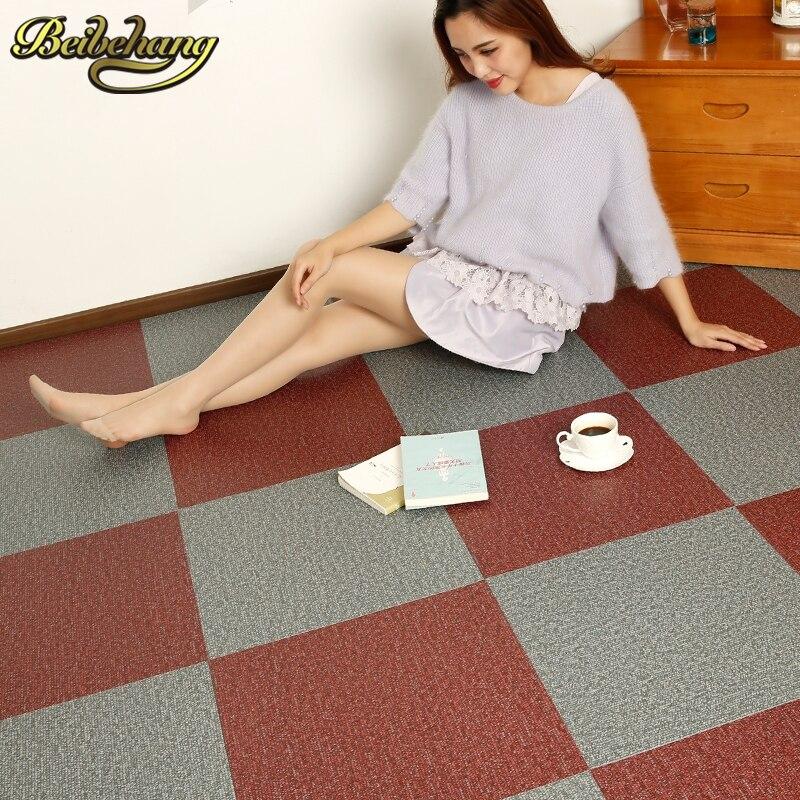 Aliexpress Buy Beibehang PVC Self Adhesive Plastic Floor Sticker Affixe Environmental Sheet 3d Tiles Wallpaper Wall Paper From