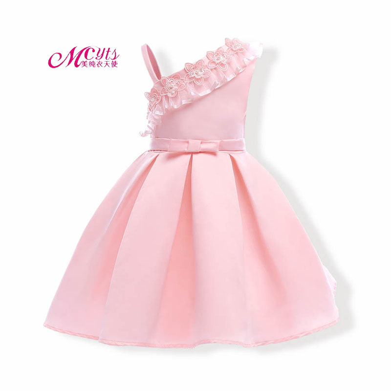 Girls Dress Clothes 2018 Summer Kids Wedding Pageant Designer Formal Dresses Girls Princess Party Dress 3 4 5 6 7 8 9 10 Years kids girls clothes american little girl party dresses wedding clothing 3 4 5 6 7 8 years girls children blue pink princess dress