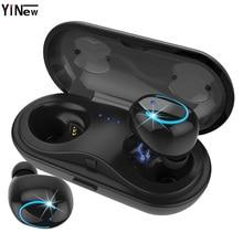 Bluetooth headphone HBQ Q18 tws wireless earphone Mini sport HIFI earbud headset air dorts+HD Mic for xiaomi huawei phone pk Q32 original meizu hd50 pk xiaomi headband headphone