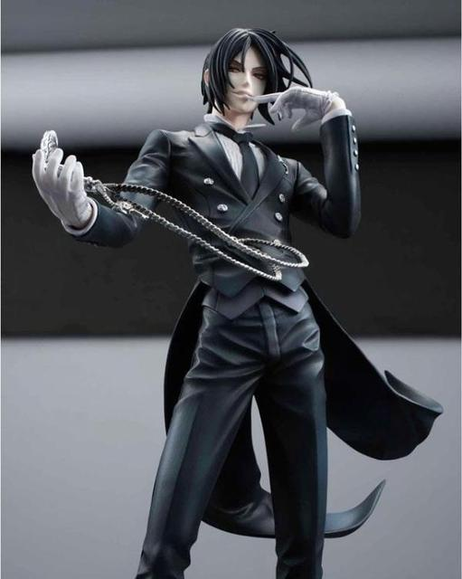Black Butler Sebastian Michaelis Anime Action Figure 20cm Toys