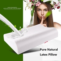 Pure Natural Latex Pillow Cervical Pillow Memory Support Rubber Adult Health Pillow Cool Summer