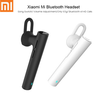 Original Xiaomi Mi LYEJ02LM Wireless Bluetooth V4.1 Headset Built-in Mic Sports Handfree On-cord Control Earphone for Phone protectores de cargador iphone