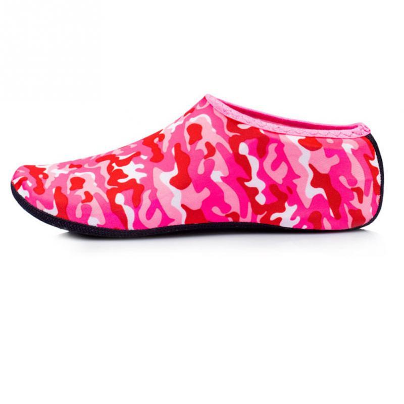 Women Men Water Shoes Aqua Sock Yoga Exercise Pool Beach Dance Swim Slip On Surf