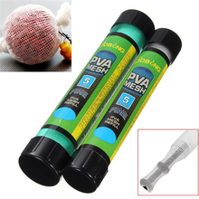 Refill Fishing Net Tackle Tool Carp Feeder 5M Water Dissolving PVA Soluble Lures Plunger Bar