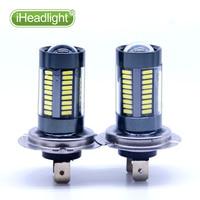 2x H7 H11 15W High Power Ultra Bright LED Car Foglight Lamp White Led Light 9005
