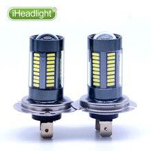 2x H7 H11 15W High Power Ultra Bright LED Car Foglight Lamp White led light  9005 9006