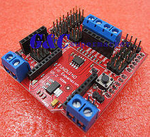 5PCS Bluetooth/SRS485 RS485/APC220 I/O Sensor Expansion Shield V5.0 k521 16dx expansion i o module16di dc24v new