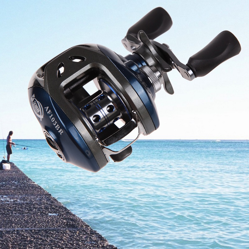 Left/Right Hand 10+1BB Ball Bearings Gear ratio 6.3:1 Spinning Reel Hand Bait Casting Fishing Reel Precision pesca Fish Tools