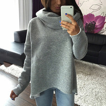Autumn Women Sweater Winter Scarf Collar Long Sleeve Pullovers Fashion Casual Style Sweater Christmas Clothes