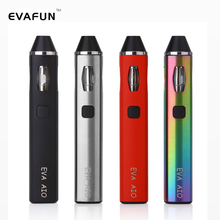 Clearance EVA AIO Starter Kit E Cigarette ALL-in-One Style with Anti-Leaking Design Vape 0.6ohm Replaceable Coil Pen