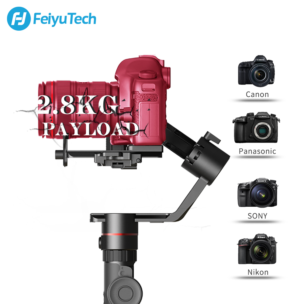 Image 3 - FeiyuTech AK2000 Handheld DSLR Camera Stabilizer Gimbal Video estabilizador for Sony Canon 5D Panasonic GH5 Nikon 2.8 kg Payload-in Handheld Gimbals from Consumer Electronics