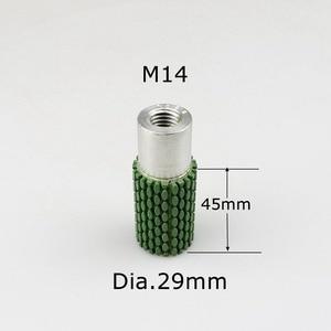Image 4 - 29mm * M14 diamentowe elastyczne mokre polerowanie koło bębna na kamień marmur beton otwór wewnętrzny szlifowanie