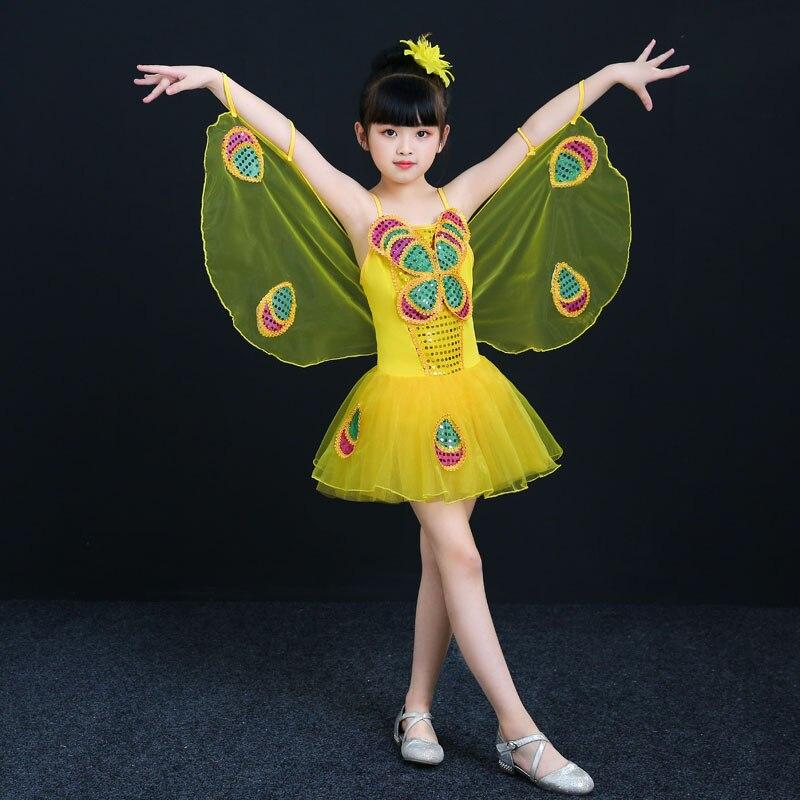 90 cm - 150 cm Kostym Barn Flickor Klänningar Kostym Anime Cosplay - Maskeradkläder och utklädnad - Foto 3