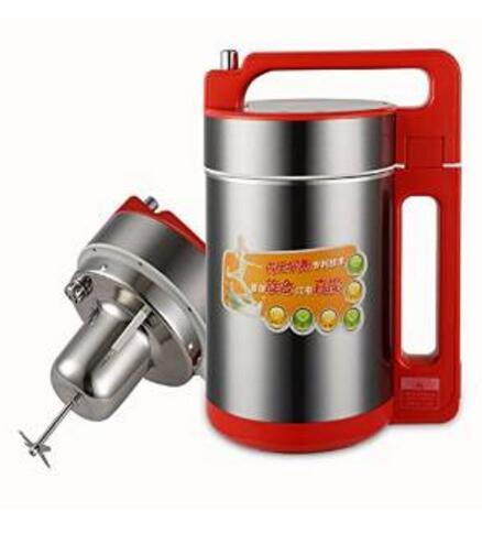 Maison rouge acier inoxydable 1.5L 220-230-240v grande capacité MESTER DJ15B-W18QG soja lait machine micro pression soja lait fabricant