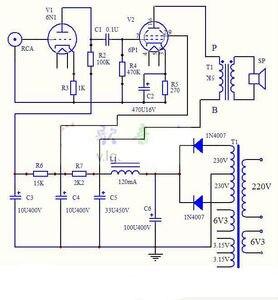 Image 3 - 6N1 + 6P1 vana Stereo amplifikatör kurulu vakumlu tüp amplifikatörler Filament Hifi ses AC güç kaynağı ile 3vsvTubes