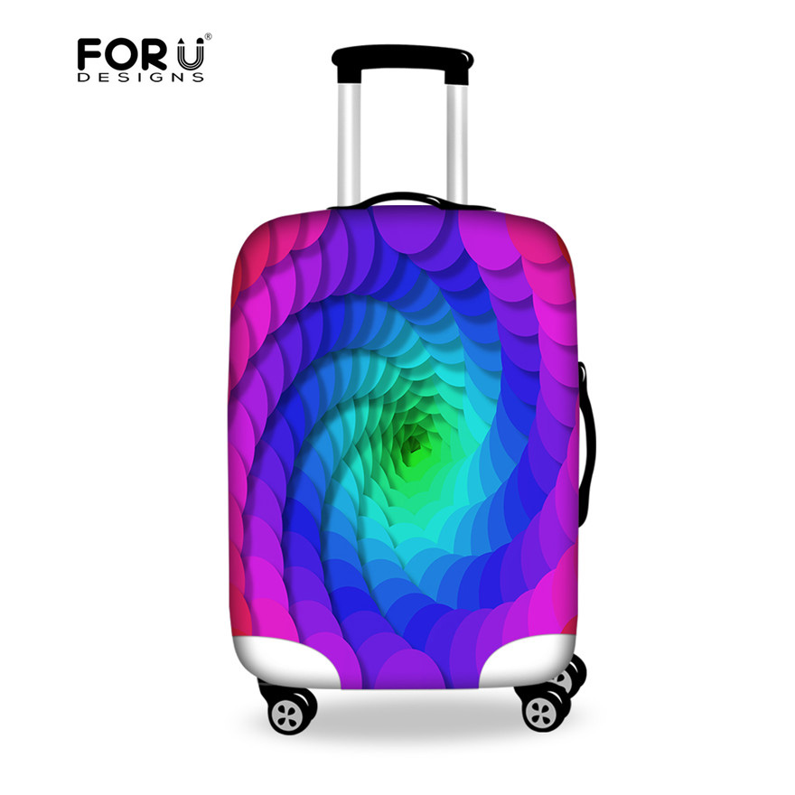 the sale of shoes uk store look for FORUDESIGNS Fancy Travel Luggage Cover for 18 22 24 28 inch ...