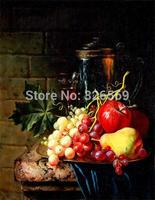 Free shipping realist fruits painting printed oil painting on canvas BMF1403A