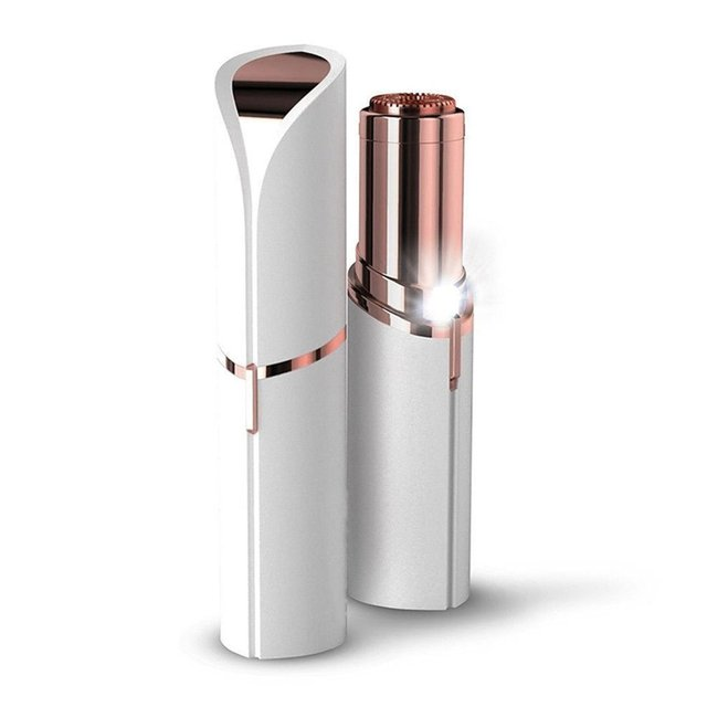 Vrouwelijke Mini Elektrische Epilator Lipstick Vorm Scheren Scheerapparaat Dame Haar Remover Voor Vrouwen Body Gezicht