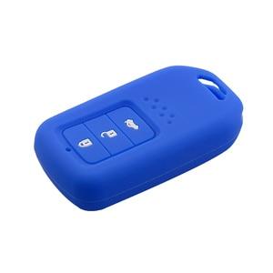 Image 4 - Housse de Protection pour clés de voiture en Silicone à 3 boutons, pour Honda Accord 9 Crider CRV, accessoires de Protection pour clés intelligentes, nouvelle collection