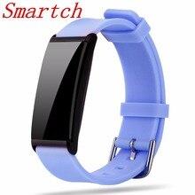 Smartch X9 смарт-браслет сердечного ритма Smart Band Presión arterial Мониторы смарт-браслет Фитнес трекер smartband для IOS Android