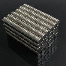 Объемный небольшой круглый неодимовые магниты NdFeB Dia 4×1 мм N35 супер мощный сильным редкоземельных Неодимовый магнит 200/100 шт.