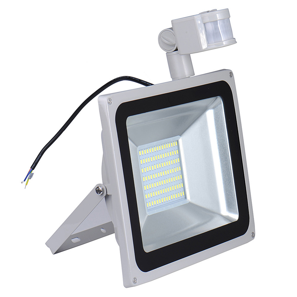 2pcs pir led flood light motion sensor outdoor lighting 100w 2pcs pir led flood light motion sensor outdoor lighting 100w waterproof ip65 ac 110v 189led 5600lm induction sense lamp garden in floodlights from lights aloadofball Image collections