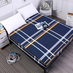 Printed Mattress Cover Fitted Bed Sheet Bed Covers Sheets with Elastic Band Bed Protection Pad Cover Anti Dust Mite