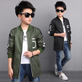 2017 Children's Outerwear Kids Coats Boys Bomber Jacket Spring Autumn Baby Boys Windbreaker Boys Outerwears New