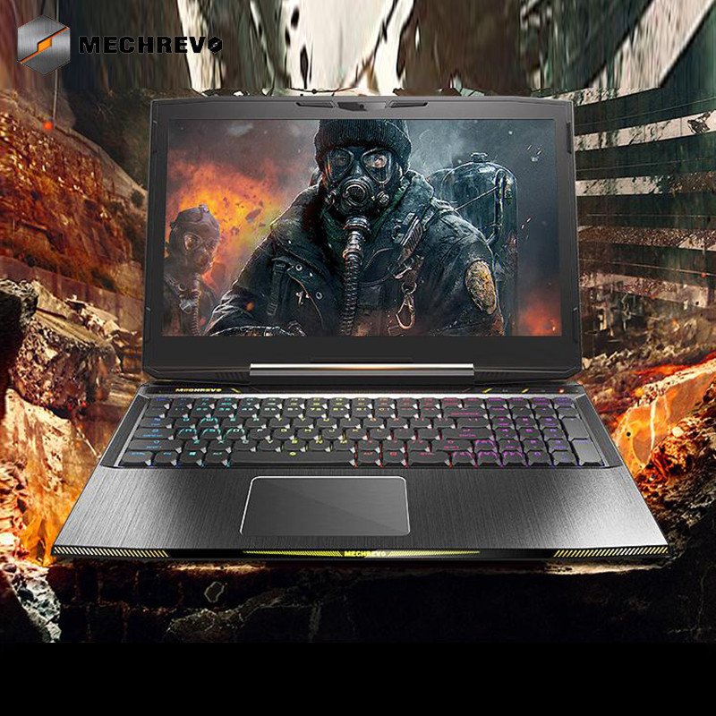 MECHREVO X8Ti Ordinateur Portable De Jeu Windows 10 15.6 Notebook Core i7-8750H Ordinateur Gamer gtx 1060 Ordinateurs Portables 8g 128 GPCIE + 1 t 144 hz