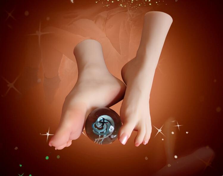 NEW sexy girls lindo pé do bichano pés fetiche brinquedos amante clones modelo arco alto produto do sexo bonecas pés adoração