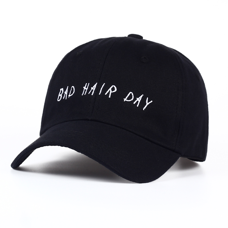 Fashion Women Baseball Cap Unisex Casquette Snapback Caps Hats For Men Brand Bad Hair Day Adjustable Sun Caps New Dad Hat