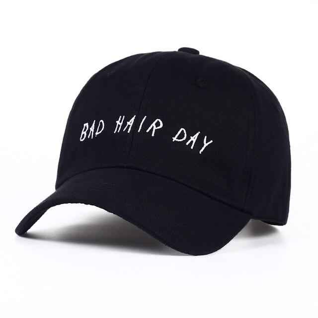8e50ee77 Fashion Women Baseball Cap Unisex Casquette Snapback Caps Hats For Men  Brand Bad Hair Day Adjustable