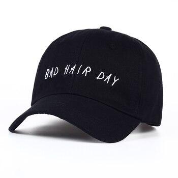 Gorra de béisbol Unisex de moda para mujer casquetas gorras Snapback  sombreros para hombres marca Bad Hair Day gorras de sol ajustables nuevo  sombrero de ... aa52157132c
