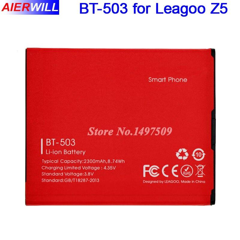 BT-503 Battery For leagoo Z5 Z5L Z5 Lite Batterie Bateria Batterij Accumulator 2300mAh