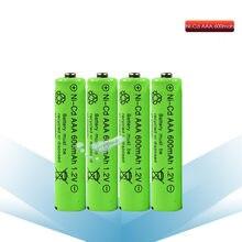 Аккумуляторная батарея kpay 2/4/6/8 шт, новая AAA батарея 600 мА · ч, аккумулятор 1,2 В, 3 А, батарея 7 # для камеры, игрушек